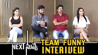 Next Nuvve Movie Team Funny Interview | Aadi Sai Kumar, Vaibhavi, Rashmi Gautam, Brahmaji