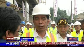 Presiden Jokowi Akan Ambil Alih Proyek Tol yang Terbengkalai