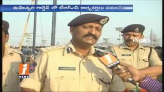 CP Sudheer Babu Face To Face | High Security Imposed For TRS Party Public Meeting| Warangal | iNews