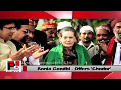 Sonia Gandhi- A leader who serves with dedication
