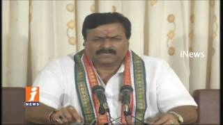 Congress MLC Ponguleti Srinivas Comments On BJP Chief Amit Shah Tour | iNews