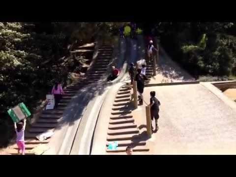 Wild Kids Slide - Wild Children Playing on a Slide - Funny Baby Videos