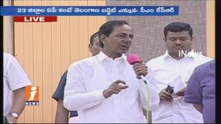 Telangana CM KCR Speech In Pragathi Bhavan | Community Leaders Meet CM KCR | iNews