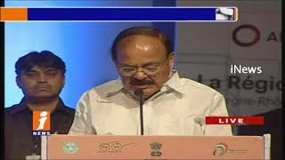 Venkaiah Naidu Speech at Urban Mobility Conference at HICC | Hyderabad | iNews