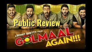 Golmaal Again | Public Review | First Day First Show | Hit Or Flop