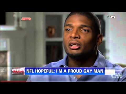 Breaking News- NFL Prospect reveal he's gay News Video