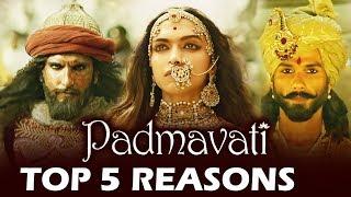 Padmavati Trailer - TOP 5 BEST Moments - Deepika Padukone, Ranveer Singh, Shahid kapoor