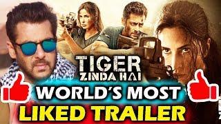Tiger Zinda Hai SETS World Record - Most Liked Trailer In History - Salman Khan, Katrina Kaif