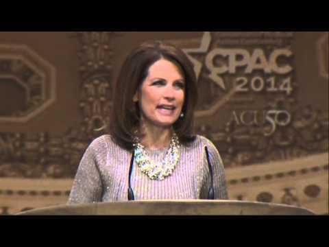 Bachmann Takes Aim at Hillary Clinton at CPAC News Video