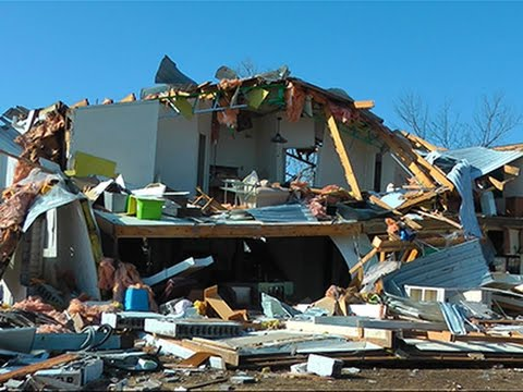 Crews Search Flattened Homes in Illinois News Video