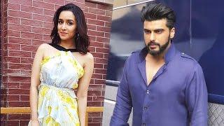 Shraddha Kapoor & Arjun Kapoor PROMOTES Half Girlfriend