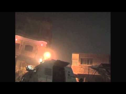 Raw- Dramatic Gunbattle in Cairo Raid News Video