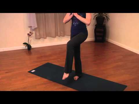 How to Do a Yoga Stork Pose : - Yoga Poses & Flexibility