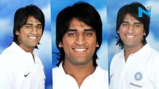 Stylish looks of Mahendra Singh Dhoni - News Video