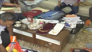 ACB Raids on Tuda Planing Officer Krishna Reddy House   Tirupati   iNews