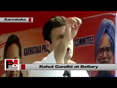 Rahul Gandhi - The welfare and upliftment of the poor has always been our focus