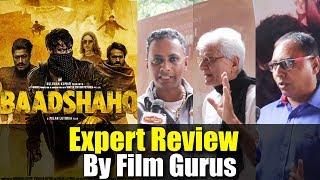Baadshaho Review By Experts Bobby Bhai, Lalu Makhija, Vijay | Baadshaho Public Review