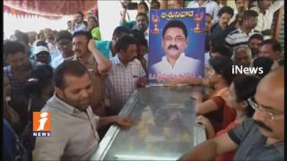 Huge People Throng To See Bhuma Nagi Reddy Body In Allagadda | Nandyal | Andhra Pradesh | iNews