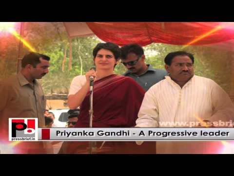 Young Priyanka Gandhi - charismatic like former PM Indira Gandhi