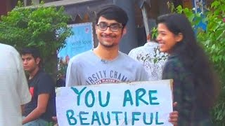You Are Beautiful Social Experiment n Prank in India
