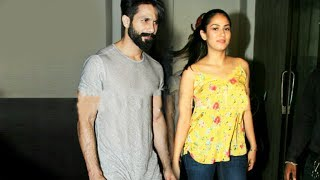 Shahid Kapoor With Wife Mira Rajput Spotted On A Dinner Date