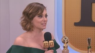 Rachel Bloom Was Totally Stunned to Win at the Globes and It's Adorable