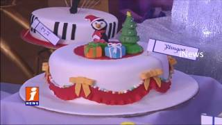 Culinary Academy of India Makes Different Types of Cake on Christmas | Hyderabad | iNews