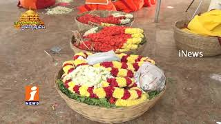 Special Story On Garlands And Flower Decorations Of Lord Venkateswara Swamy In Tirumala| iNews