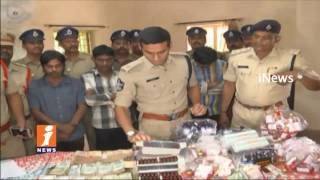 Govt Never Tolerate any Kind Of Drug Issue in Sate | AP DGP Sambasiva Rao | iNews