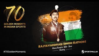 RS Rathore - Athens Olympics, 2004 - Silver  | 70 Golden Moments In Indian Sports