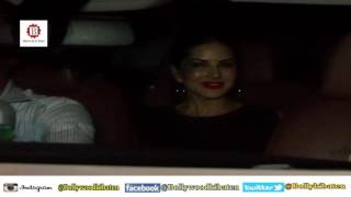 Sunny Leone Spotted With Husband Daniel Weber on a Dinner Date in Mumbai