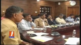 AP CM Chandrababu Alerts Officials Ahead Of Vardah Cyclone Severity | iNews