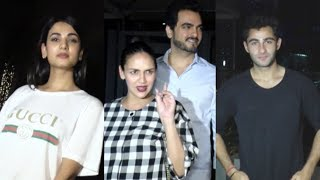 Pregnant Esha Deol With Friends During Dinner At Yauatcha Restaurant