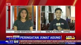 Sekitar 509 Personel Amankan Gereja Katedral Jakarta