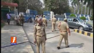 High Tension At HCU Gate Over Rohith Vemula Condolence Rally | iNews