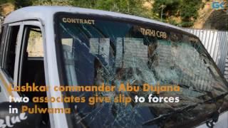 Lashkar commander Abu Dujana, two associates give slip to forces in Pulwama
