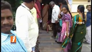 Lack Facilities At Polling Booths In Nandyal By Election | iNews