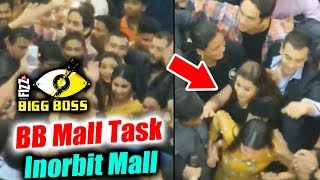 Shilpa, Hina Vikas, Luv GRAND ENTRY At Inorbit Mall | BB Mall Task | Bigg Boss 11