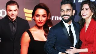 Virat Kohli, Anushka Sharma, Malaika, Sohail At Indian Sports Awards 2017