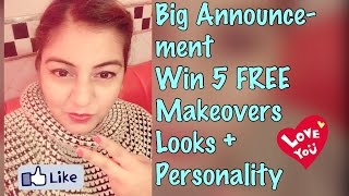 5 Free Makeovers - BIGG Announcements - Must Watch❤