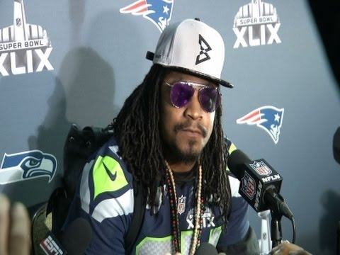 Seahawks' Lynch- 'You Know Why I'm Here' News Video