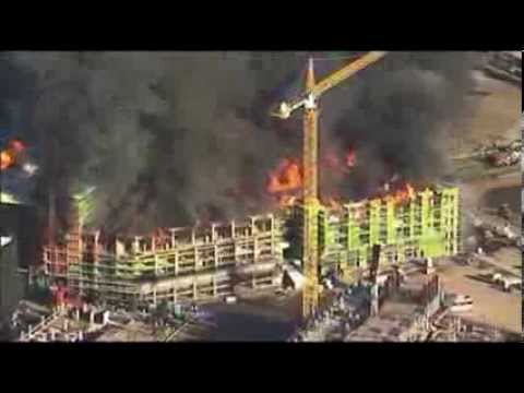 San Francisco Firefighters Stop Big Blaze Spread News Video