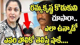 Actress Ramya Krishna Family Rare and Unseen Pics | Krishna Vamsi | Baahubali 2 Trailer |TopTeluguTV