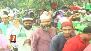 Huge Devotees Crowd For Rottela Panduga at Bara Shaheed Dargah | Nellore | iNews