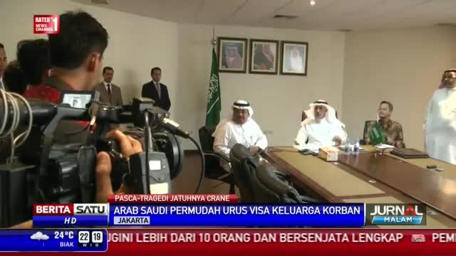Raja Salman Undang Keluarga Korban Crane Tamu Khusus