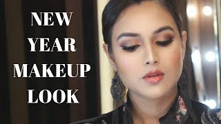 NEW YEAR'S EVE MAKEUP LOOK | MINI ROMWE HAUL
