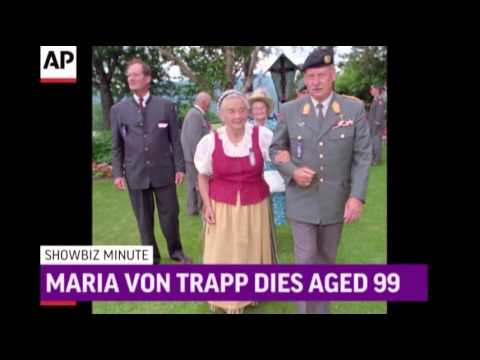 ShowBiz Minute- Worthington, Von Trapp, Morgan News Video