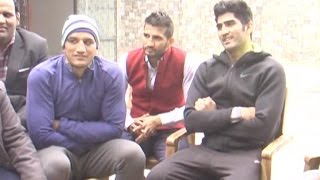 Boxer Vijender Singh wants producers to shoot movies like Dangal and Sultan in Haryana in future!