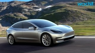 Elon Musk Unveils Model 3 From Tesla Motors