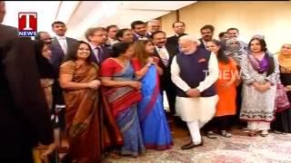 PM Narendra Modi Meets Indians In Riyadh - Saudi Arabia : PM Narendra Modi Visit To Saudi Arabia